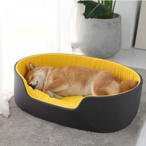 Nid 3D pour chien Couchage chien Lit pour chien Niche chien a7796c561c033735a2eb6c: Noir Vert